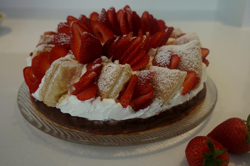 Erdbeer - Friesen -Torte